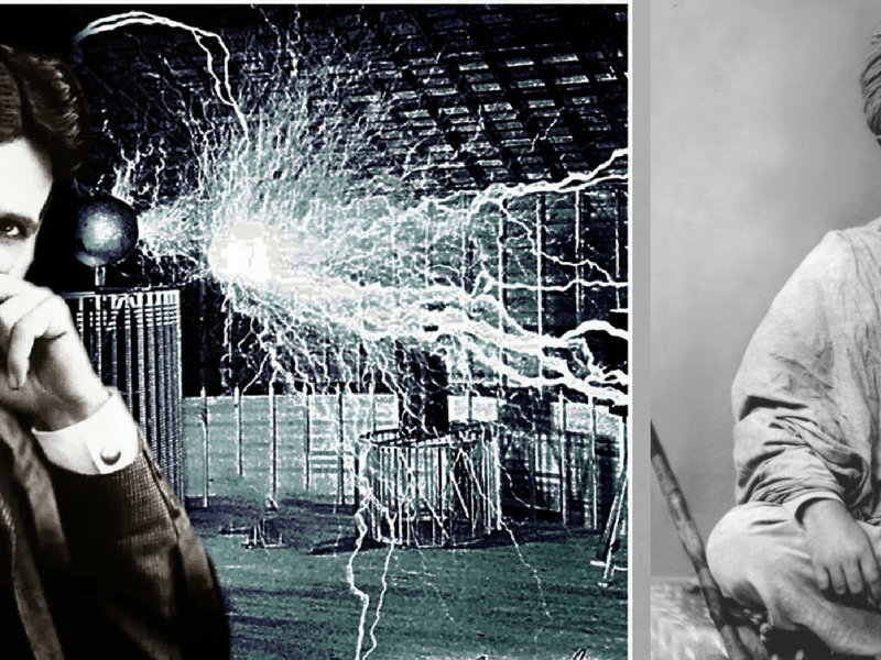 When Vivekananda Met Tesla: Modern Physics' Earliest Trysts with Vedanta