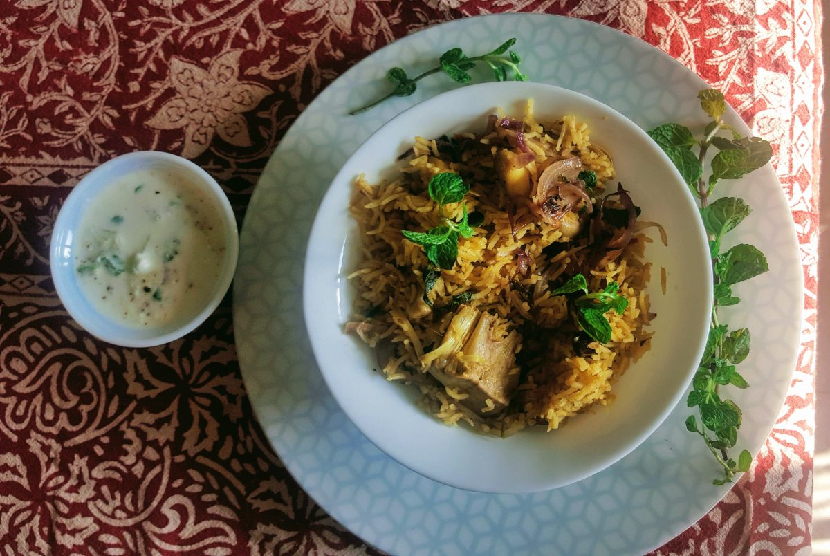 Jackfruit (Kathal) Biryani - bursting with the flavours of India