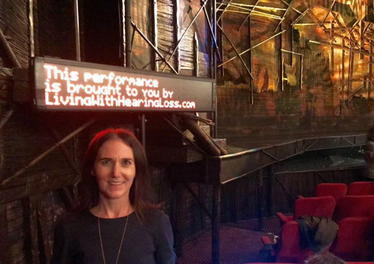 Living With Hearing Loss Proudly Sponsors Open Captions on Broadway!