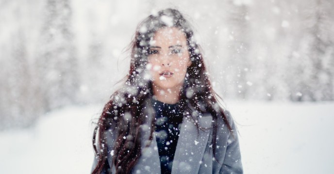 woman-in-snow