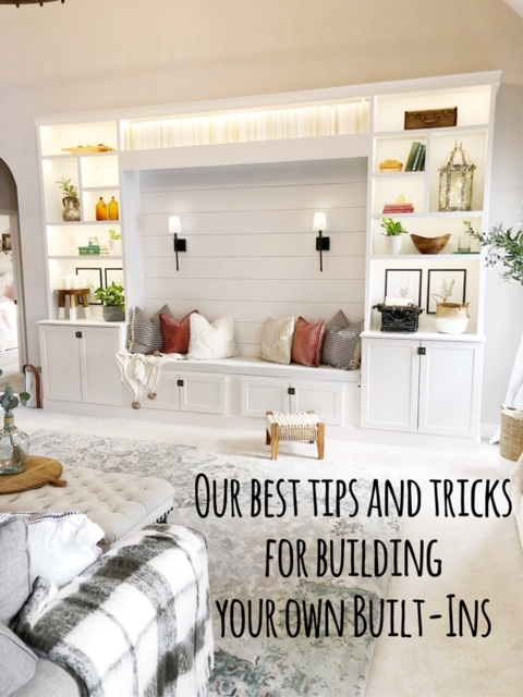 Our Diy Built Ins Our Best Tips And Tricks To Build Your Own Living With Lady