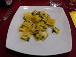 Ravioli at Ristorante Pizzeria Al Tintoretto