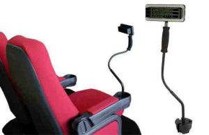 CaptiView Assistive Movies Hearing Impaired