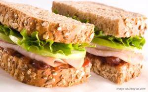 Chef Samuelsson's turkey & chutney sandwich