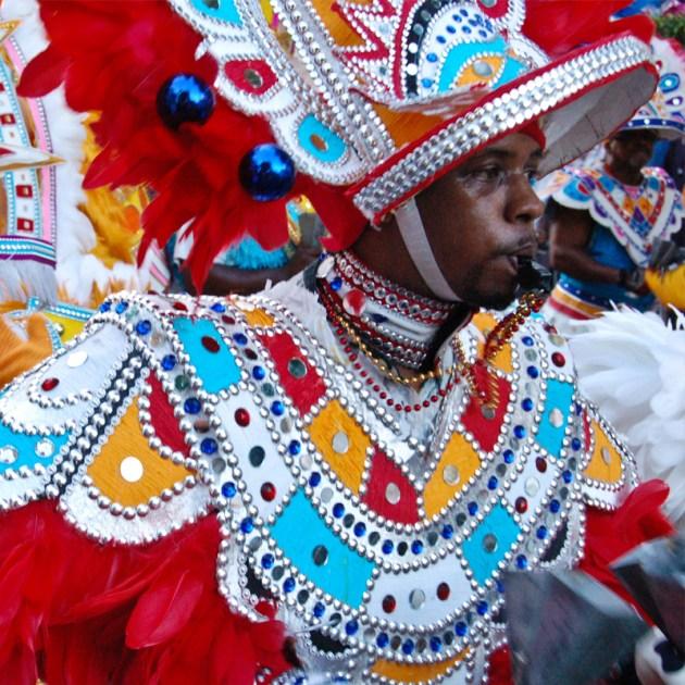 Junkanoo street festival in the Bahamas
