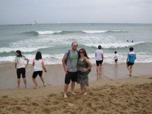 Busan- Haeundae Beach