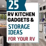 25 Best Rv Kitchen Accessories And Gadgets For Rv Living Livin Life With Lori