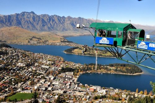 The Ledge Bungy Queenstown New Zealand