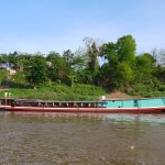 From Thailand to Laos by Slow Boat