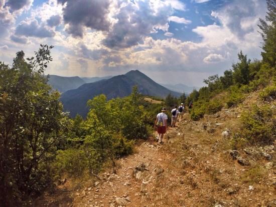 Vodno to Matka Canyon hike