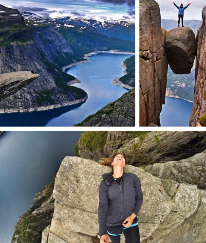 Norway Trolltunga Kjerag Preikestolen