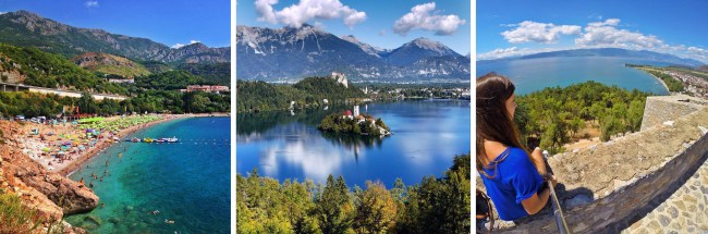 Montenegro Slovenia Macedonia