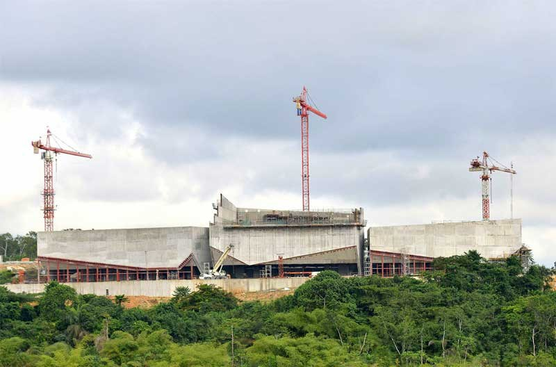Calabar-International-Convention-Centre-pilling-works-removal-13