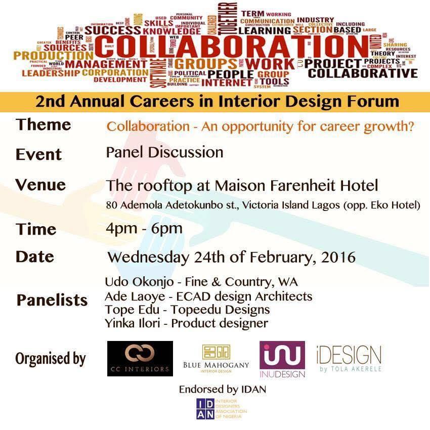 2nd annual careers in interior design forum