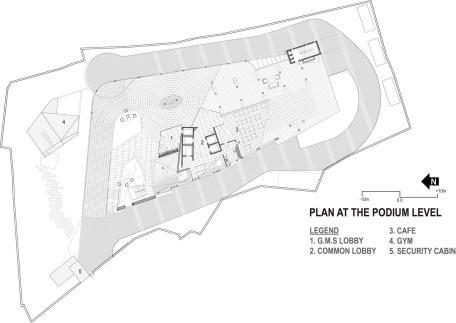 GMS Grande Palladium ground floor plan