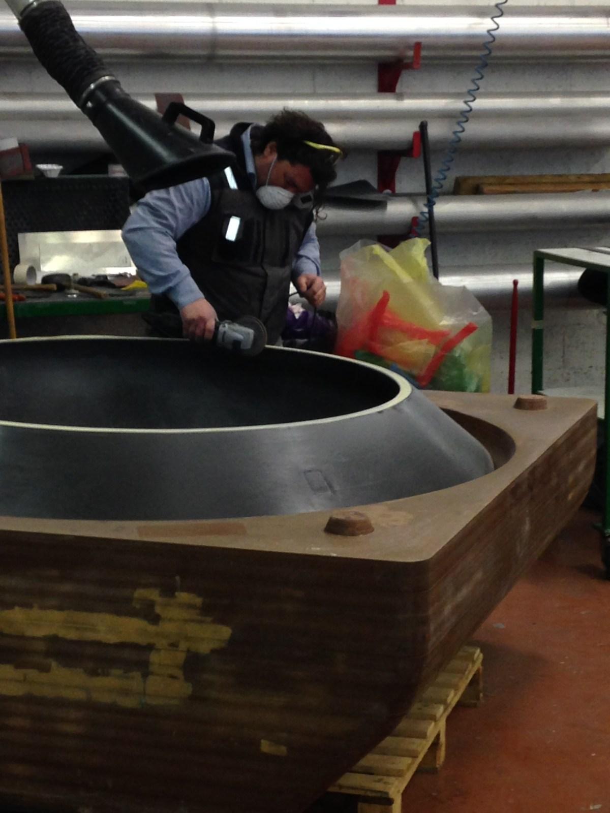 ufo rocking chair making