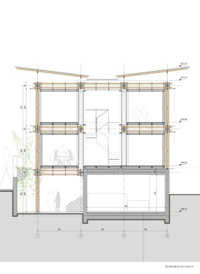 BAMBOO HOUSE _STUDIO CARDENAS11_section_BB