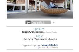 9h design talk architect Tosin Oshinowo
