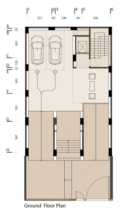 cloaked in brick_02_admund studio_Ground_Floor_Plan