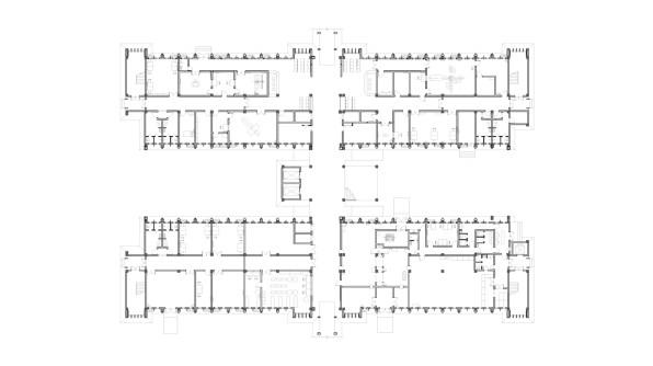Niger General Hospital_39_CADI_ Medical Tech ground Floorplan