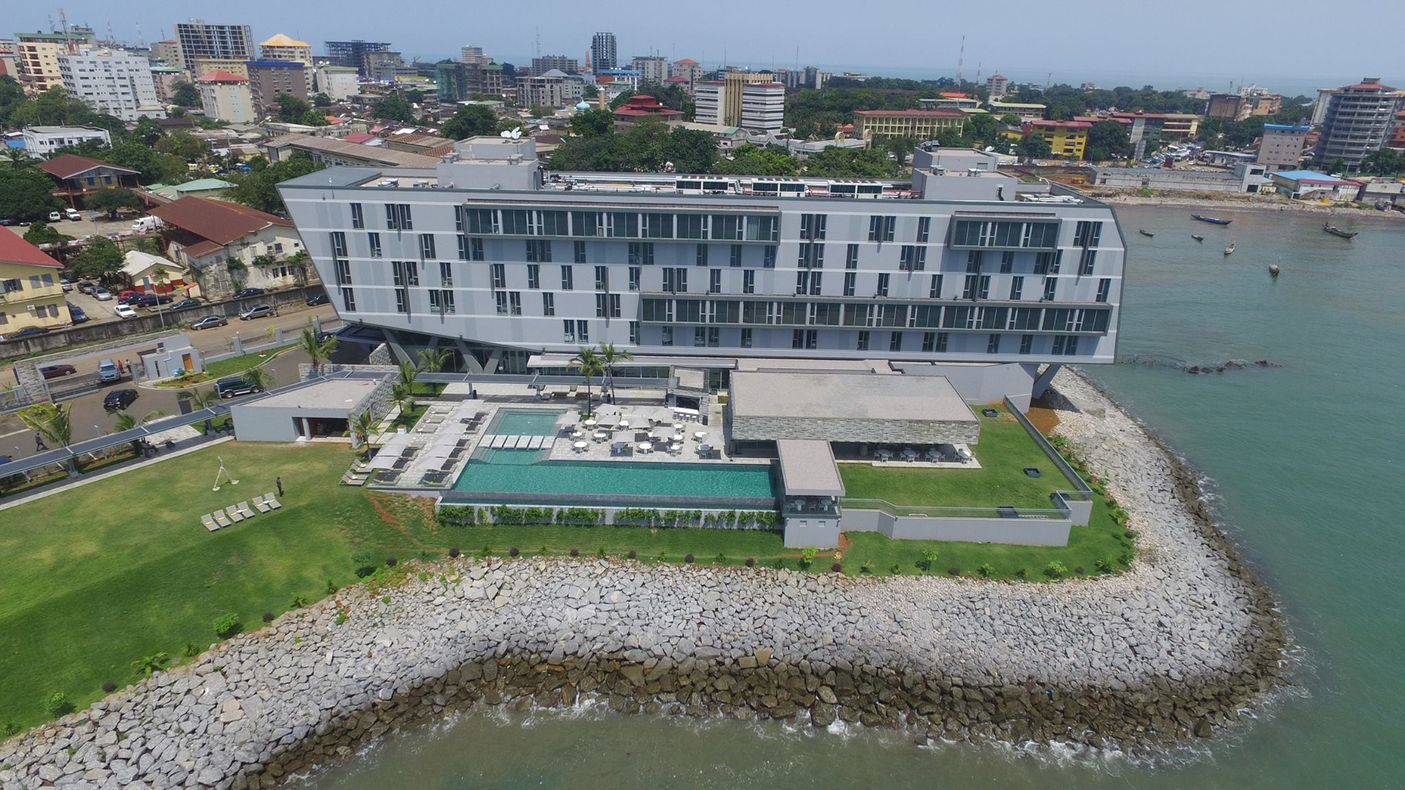 NOOM HOTEL CONAKRY IN GUINEA BY SAOTA | livin spaces