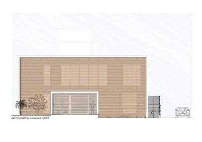 Badri Residence EAST_ELEVATION_Architecture Paradigm