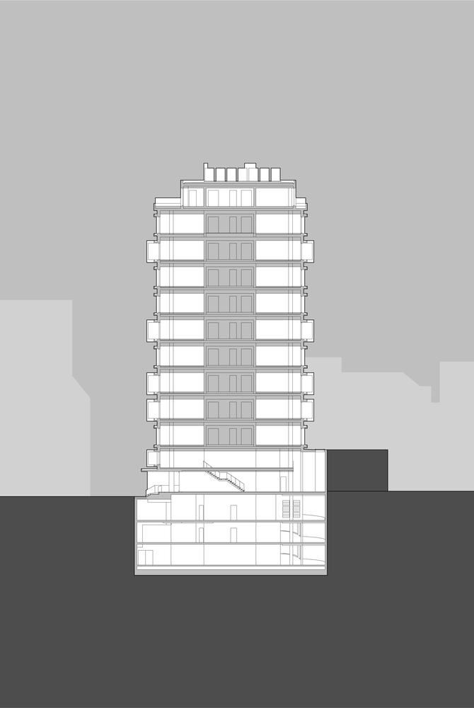 KN10 Building_10_Costa Lopes_section