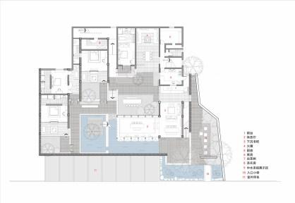 DALI MUNWOOD LAKESIDE RESORT_03_INIT DESIGN OFFICE_Drawings_models_floor plans