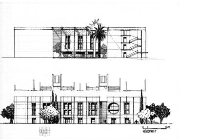 Mohammed VI Polytechnic Uni_28_concept & detail sketches