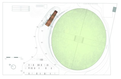 Rwanda Cricket Stadium_01_Light Earth Designs_Site Plan