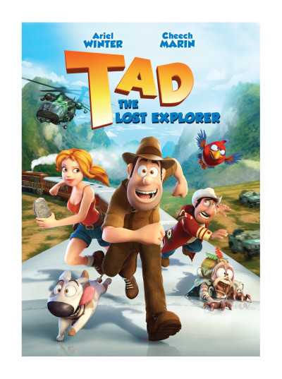 Tad The Lost Explorer DVD Review Amp Giveaway Livin The