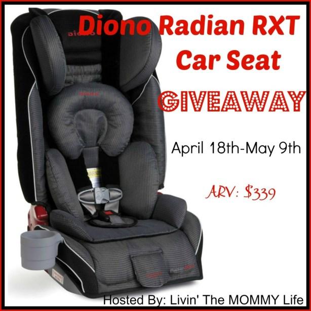 Diono RadianRXT Car Seat Giveaway