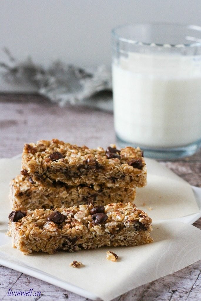 Healthy Homemade Granola Bars
