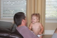 Tickle Time with Daddy!