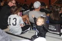 Landri enjoyed the game as always!