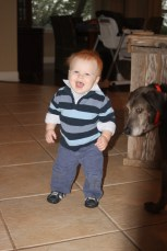 Little boy!