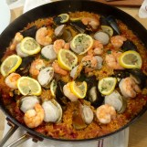 Seafood Paella - finished product