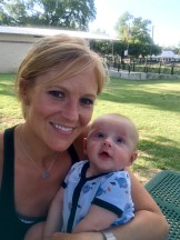 Mommy and Ty Baby at the Tailgate!