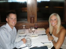Dinner for Scott's birthday (2011)