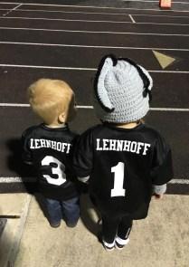 They LOVE Steele Knight Football