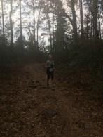Enjoying the trail
