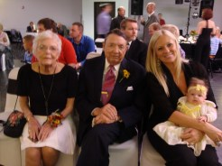 Great Grandparents and Mommy with Landri