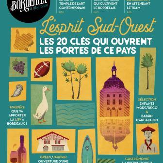 Cover illustration for Vivre Bordeaux Magazine