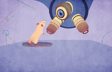 Illustration for Science et Vie Junior about Animal intelligence