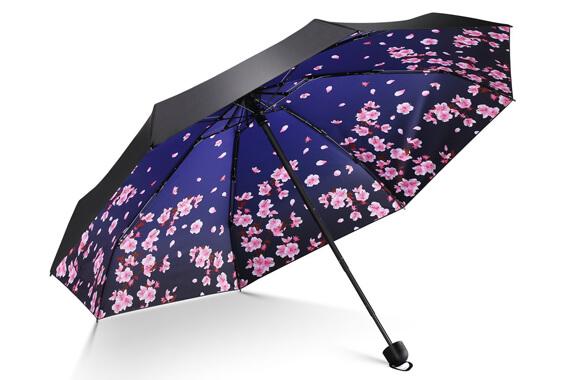 2_【Leebotree】折りたたみ傘(晴雨兼用)