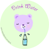 drink-water-bear-animal-tag