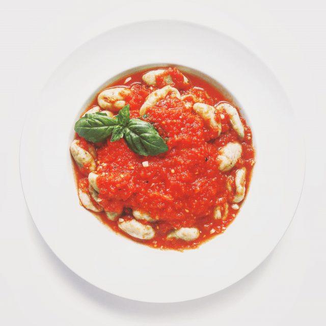 Whole-Wheat Potato Gnocchi with Super-Fast Tomato Sauce