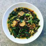 Wild Rice, Italian Sausage, and Black Bean Stew