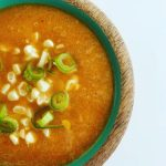 Raw Bell Pepper and Corn Soup