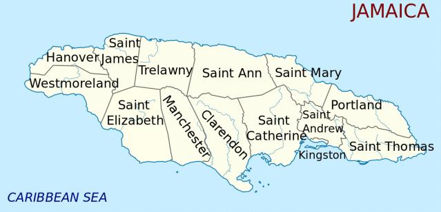 Jamaica Parishes